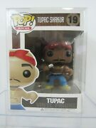 Funko Pop Rare Tupac Shakur W/ Eyebrows And Protective Case 19 Pg82c