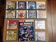 12 Game Lot - Nintendo Ds - Batman 2 Dc, Nintendo Dogs Lab And Friends And More🔥
