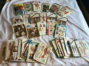 Lot Of 33 Vintage Sewing Patterns 80and039s / 70and039s Simplicity Butterick Mccalland039s Rare
