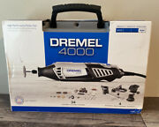 Dremel 4000 High-performance Rotary Tool 120v Corded Electric 4 Attachments New