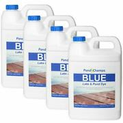 Blue Lake And Pond Dye 4 Gallon Value Pack