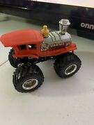 Hot Wheels Monster Jam Truck Derailed Locomotive Train Used Loose 164 Scale
