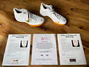2 Mike Trout Signed Used 2020 Angels Nike Shoes Anderson Psa/dna Authentic Loa