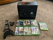 Microsoft Xbox One Day One Edition 500gb Black Console, Games, Controllers, More