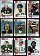 1973 Topps Football Complete Set 6 - Ex/mt