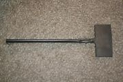 1800s Unusual Es Wrought Iron Long Handled Clamp Mold 22 7/8 6lb 3oz Pat Pend