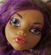 Monster High Doll Gloom Beach Clawdeen Wolf Head Only For Replacement Or Ooak