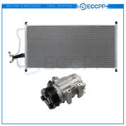 Ac Condenser And Ac Compressor Cooling Kit For 2007-2014 Ford Expedition F-150