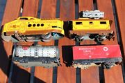 Vintage Marx M10005 Tin Litho Wind Up Train Lot All Included Parts Rare
