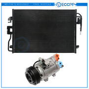 Ac Condenser And Ac Compressor Cooling Kit For 2008-2012 Ford Escape Mazda Tribute