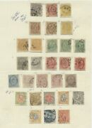Iceland Early On Pages Used And Some Mint Many Scarce F/vf Scott 6048.00