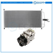 Ac Condenser And Ac Compressor Cooling Kit For 97-01 Ford F-150 97-99 Ford F-250