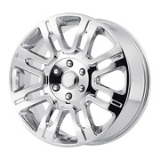 Single Oe Creations For Ford F-150 /expedition 20x8.5 6x135 Offset 44 Chrome