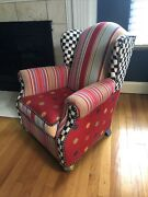 Mackenzie Childs Wee Wing Chair For Children - Hard To Find.