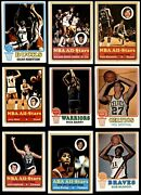 1973-74 Topps Basketball Complete Set 6 - Ex/mt