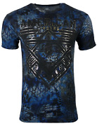 American Fighter Menand039s T-shirt Mountville Black Athletic Biker Mma Xs-4xl