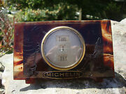 Rare Vintage C.1920and039s Michelin Perpetual Calendar - Tortoise Shell Celluloid