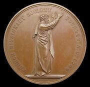 1848 Church Missionary Society 58mm Bronze Medal - By Wyon