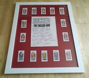 Rare 1966 England World Cup Signed By All 11 Players Inc Bobby Mooreandnbsp