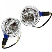 Headlight Headlamp Assembly+led Ring For New Holland Ford Farmtrac Tractor Cdn