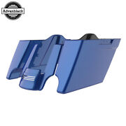 Blue Max Stretched Saddlebags Extended Bag Rear Fender Fits 14+ Harley Touring