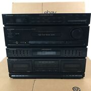 Pioneer Rx-540 Home Stereo Cassette Deck Receiver Stereo System -read Below 2.c4