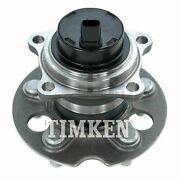 One New Timken Wheel Bearing And Hub Assembly Rear Ha594504 For Toyota