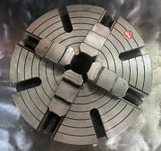 Rohm 12 Solid 4-jaw Chuck With D1-6 Mount