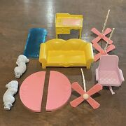 Vintage 1986 Hasbro My Little Pony Paradise Estate Replacement Furniture Pieces
