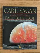 Pale Blue Dot A Vision Of The Human Future In Space By Sagan, Carl Paperback