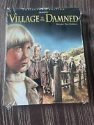 Village Of The Damned Shout Factory With Slipcover And Poster Sealed Oop