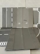 """Lego Road Base Plates 32x32 Or 10""""x10""""- Lot Of 6 In Good Condition"""