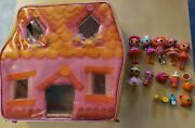 Lalaloopsy Lot Mini Dolls W Accessories Carrying Case House Dot Starlight