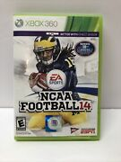 Ncaa Football 14 Xbox 360 With Original Case - Tested
