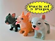 Schylling Animals Pocket Pups Set Of 3 Pups 1 Of Each Color