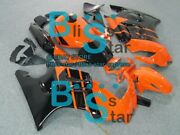Orange Injection Fairing With Tank Cover Fit Honda Cbr600f3 1995-1996 74 A2
