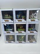 Funko Pop An Afternoon With Eevee And Friends Pokemon Center Full Complete Set 9