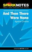 Spark Notes And Then There Were None - Paperback By Christie, Agatha - Very Good