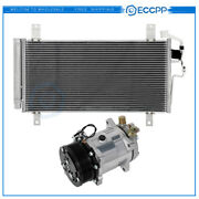 Ac Condenser And Ac Compressor Cooling Kit For 2006-2007 Mazda 6