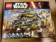 Lego 75157 Star Wars Rebels Clone Captain Rexand039s At-te Mib Brand New Free Ship