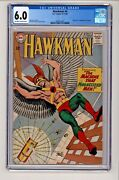 Hawkman 4 Murphy Anderson Cover First Appearance Of Zatanna Cgc 6.0 Ow-w