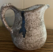 Mccartyandrsquos Pottery Nutmeg Pitcher Genuine- 1st Quality