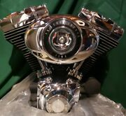 And03907 96ci Twin Cam Harley Davidson Street Glide Touring Flhx V Twin Motor