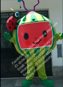 Cocomelon Watermelon Mascot Costume Halloween Party Character Fancy Dress