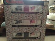 """Vintage Lionel """"the Old Glory Series"""" Of 3 Train Cars Nibx"""