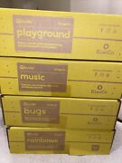 Koala Crate Lot Of 4 Boxes Brand New Playground Music Bugs Rainbows Ages 3+