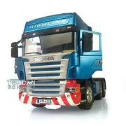 Hercules 1/14 Scale Rc Scania Highline Tractor Truck Car Blue Painted Diy Model