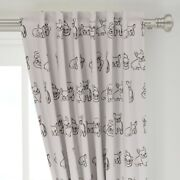 Friendly French Bulldogs Bulldog Pug Puppies 50 Wide Curtain Panel By Roostery