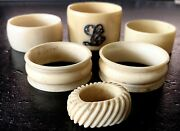 Collection Of 19th Century Napkin Rings 6