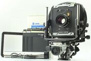 【mint】 Toyo-view 45 G Long And Bag Bellow 4x5 W/ Nikon W 180mm F5.6 From Japan 185